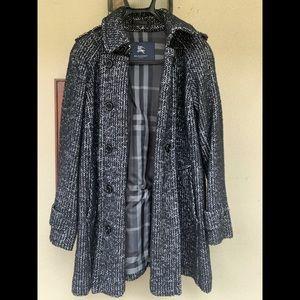 Burberry light weight winter pea coat